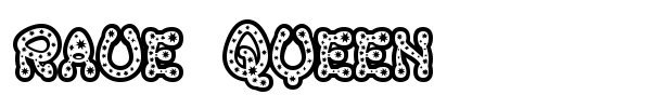 Rave Queen font