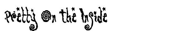 Pretty On The Inside font