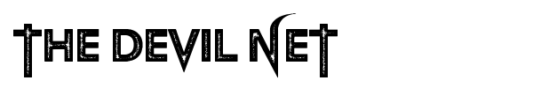 The Devil Net font