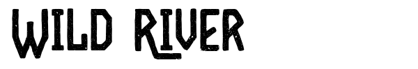 Wild River font
