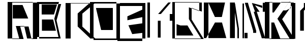 Abstract Abomination font