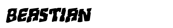 Beastian font preview