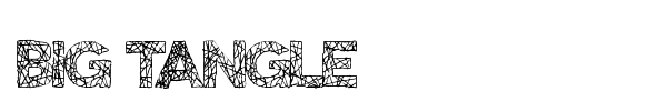 Big Tangle font