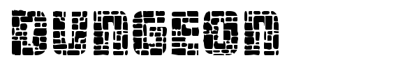 Dungeon font