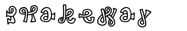 Snakeway font preview