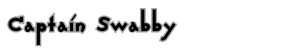 Captain Swabby font