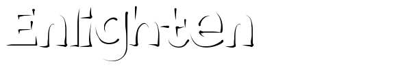 Enlighten font