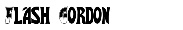Flash Gordon font