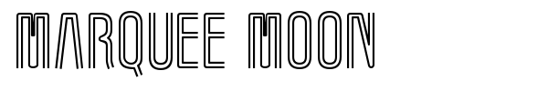 Marquee Moon font preview