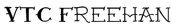 VTC Freehand Tattoo One font