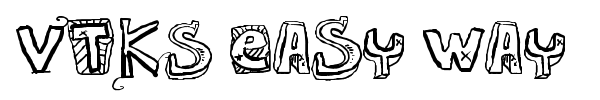 VTKS Easy Way font