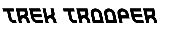 Trek Trooper font