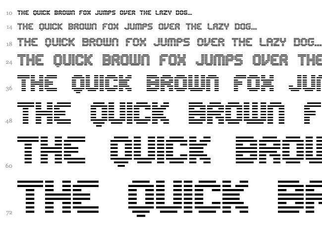 Edit Undo Line font waterfall