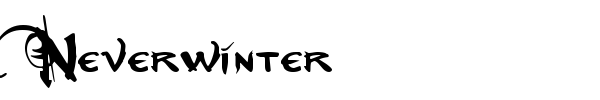 Neverwinter font preview