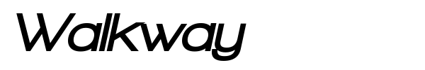 Walkway font preview