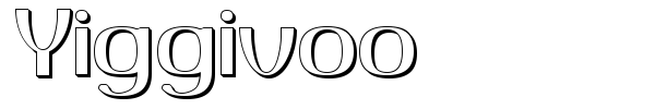 Yiggivoo font preview