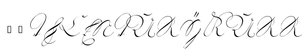 18th Century Kurrent font preview