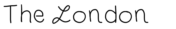 The London font