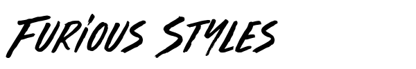 Furious Styles font