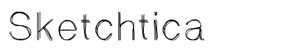 Sketchtica font preview