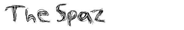 The Spaz font