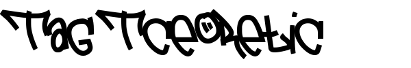 Tag Tceoretic font