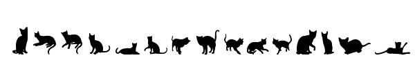 Cats vs Dogs LT font