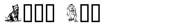Dogg Art font preview