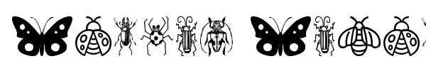 Insect Icons font