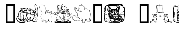 Karen's Kitties font