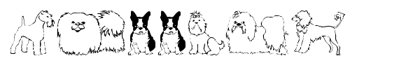 Puppins font preview