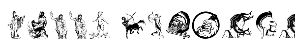 Greek Mythology font