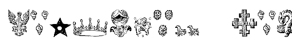 Heraldic Devices font