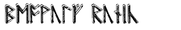 Beowulf Runic font
