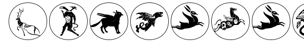 Mythological Disks font