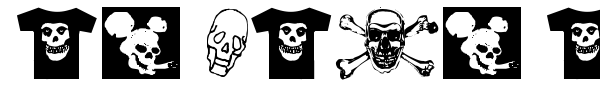 At Last A Tshirt font preview