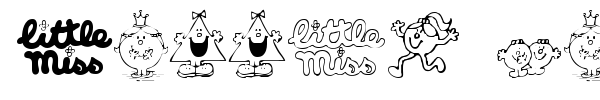 Little Miss font