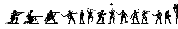 Soldiers of Hell font