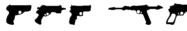 2nd Amendment 2050 font preview