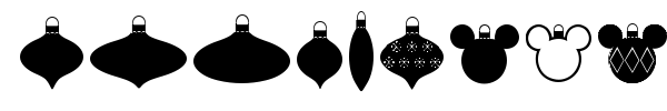 Christmas Mouse font